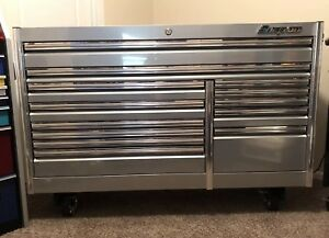 Snap On 68 Epiq Tool Box Kern682b0prh New Chrome Drawer Guards And Casters