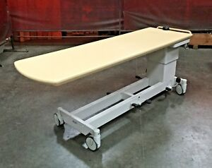 Philips Medical Height Adjustable Trolley Table 495b Max 9890 010 87311