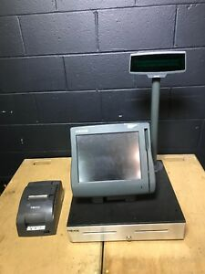 Huge Lot Of Micros Pos Workstation 4 400614 For Parts And Repair