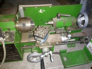 Central Machinery Precision Mini Lathe Benchtop Toolmaker Lathe Metal W Motor