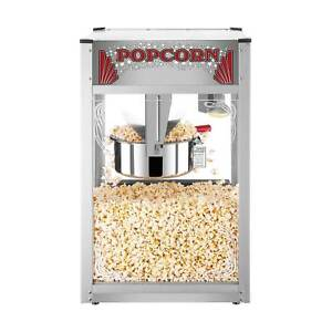 Commercial Popcorn Popper Machine Maker 16 Oz Kettle Home Theater