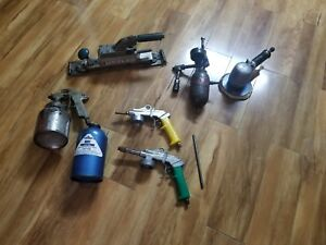 Paint Shop Tools Mix Lot Hustler Sander Model 2000 Daubert Speedaire And More