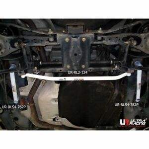 For Mazda 3 Bl Bk Mps Mzr Ultra Racing Rear Lower Bar Brace 2 Points Solid Steel