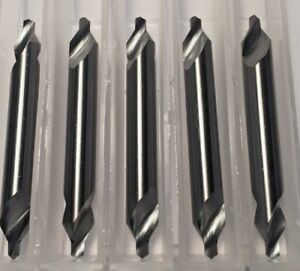 Carbide Center Drill 4 1 8 Pilot 60 Degree 5 pack Made In The Usa