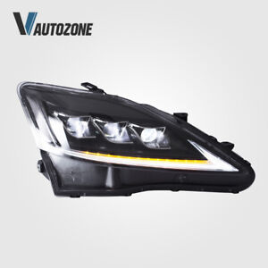 Led Headlights Fit For Lexus Is250 Is350 Isf 2006 2012 Front Lamps Assembly Set