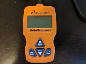 Used Actron Cp9575 Autoscanner Obd Ii Scan Tool Engine Code Scanner