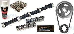 Chevy 350 Hi performance 274h Camshaft Lifter Timing Kit Zinc Lifters Springs