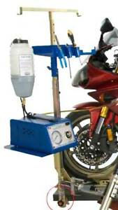 Kl Motorcycle Bike Lift Table Fixed Auxiliary Gas Fan Caddy Kit