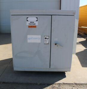 500 Kva Abb Oil Filled Padmount Transformer 13200 480y 277 Volt 3 Phase