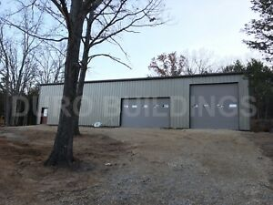 Durobeam Steel 40x80x16 Metal Building Commercial Garage Workshop Factory Direct