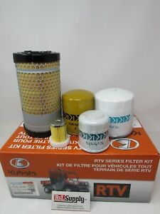 Genuine Oem Kubota Rtvx900 Filter Kit 77700 08715
