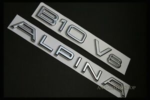 New Alpina B10 V8 Emblem Badge Logo For Bmw 5 series E34 E39 E60 E61 F10 F11