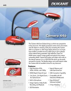 Dukane Document Camera 446