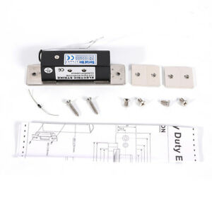 Electric Strike Lock For Access Control 12v Fail Safe Nc Cathode Wood Metal Door