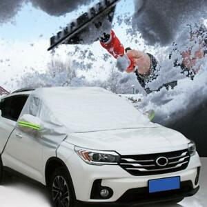 Car Windshield Snow Cover Summer Sun Uv Protector Shade Ice Frost Removal