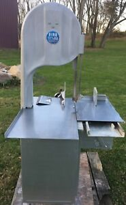 Biro Model 3334 Meat Bandsaw One Owner Extra Blades Ratchet Arms
