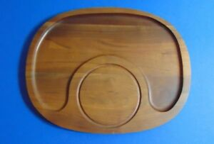 Vintage Solid Walnut Vermillion Cheese Cutting Board Look As If Never Used
