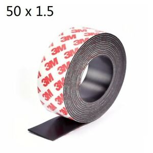 5m Self Adhesive Flexible Soft Rubber Magnetic Tape Neodymium Magnet Diy Craft