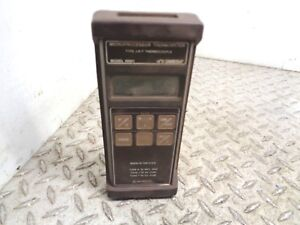 Omega Microprocessor Thermometer Type J k t Thermocouple Hh21