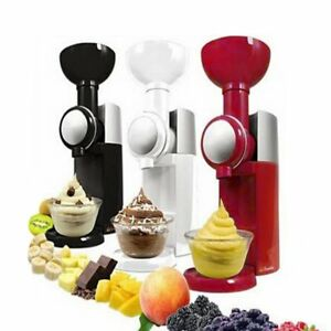 Diy Ice Cream Maker Machine Portable Automatic Frozen Fruit Dessert Machine Rpg