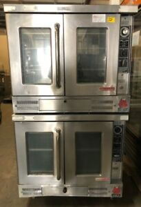 Wolf Gas Double Stack Convection Oven