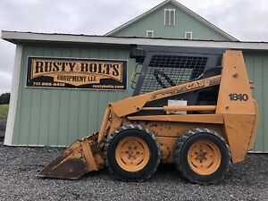 99 Case 1840 Skid Steer Loader Cummins Diesel Grey Cab Cheap Shipping Rates