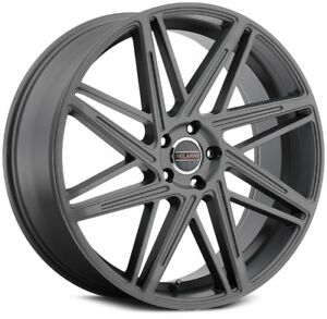 1 new 18 Milanni 9062 Blitz Wheel 18x8 5 5x120 38 Anthracite Rim