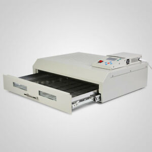 T 962c 2500w Infrared Ic Heater Reflow Solder Wave Oven Machine 400 X 600 Mm
