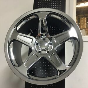20 Demon Srt Style Chrome Wheels Rims Fits Dodge Charger Challenger