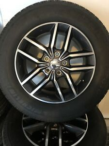 2018 Oem 18 Jeep Grand Cherokee Limited Wheels And Tires 600 Miles Like New