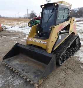 2006 Asv Sr 70 Skid Steer Track Loader High Flow Erops W Bucket Attachment