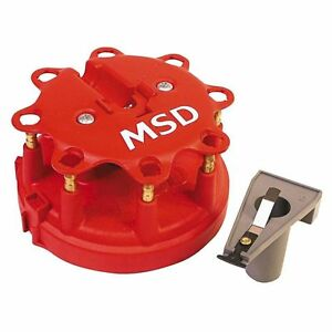 Distributor Cap And Rotor Kit vin F Autozone msd 8450