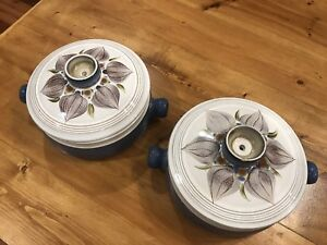 Set Of 2 Mid Century Modern Derby Casserole Dishes