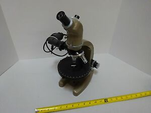 Microscope Vickers England Metallograph Polarizer Stage Uk Optics As Is tb 4