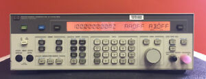 hp Agilent 8642b 100 Khz To 2100 Mhz Synthesized Signal Generator Mint Cond