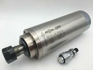 2 2kw Spindle Motor Er30 Cnc Water cooled 3bearings D80 213mm For Router Milling