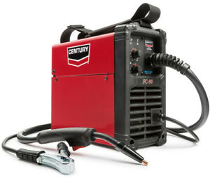 Century 90 Amp Fc90 Flux Core Wire Feed Welder 120v Portable Thermal Protector