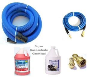 Carpet Cleaning Hoses Chemical Combo