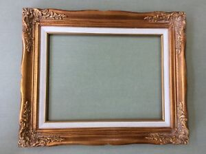 Beautiful Ornate Gold Baroque Style Decorative Picture Frame12 X16 Or 14 X18