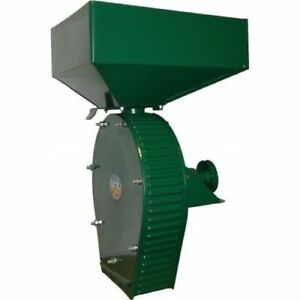 Feed Mill Grinder Grain Wheat Crusher Corn Oats 250kg hour Without Engine