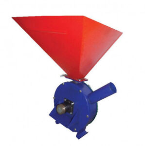 Feed Mill Grinder Grain Wheat Crusher Corn Oats Without Motor 120 Kg hour
