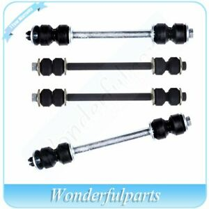 4pc Rear Front Sway Bar End Links For 06 10 Ford Explorer Mercury Mountaineer