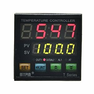 Mypin Temperature Controllers Ta4 snr k Thermocouple Pid Dual Digital Display