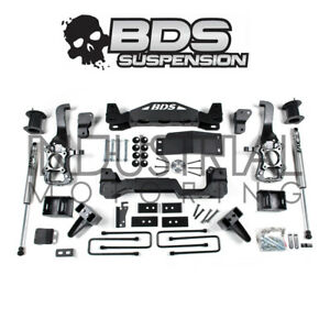 Bds Suspension 2015 2016 Ford F 150 4wd 6 Inch Lift Kit Rear Fox Shocks 1506h