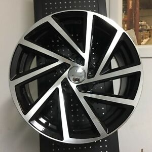 17 Gli Swirl Style Wheels Rims Vw Rabbit Tiguan Q5 5x112 45mm Et