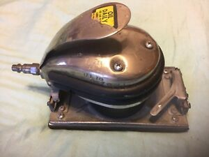 National Detroit 400 Jitterbug Orbital Sander Pneumatic Air Excellent Condition