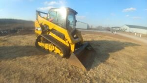 2016 Caterpillar 259d Cab A c Track Skid Steer Loader 1735hrs Used