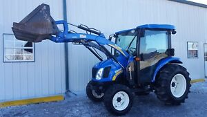 2013 New Holland Boomer 3045 45hp Cab Tractor 4x4