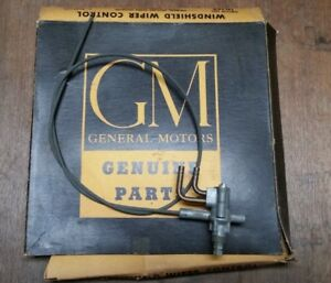 Nos Gm 1953 54 Chevy Passenger Car Windshield Wiper Switch Control Cable 4597744