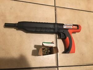 Ramset Cobra Plus 27 Caliber Semi Auto Powder Actuated Tool Used